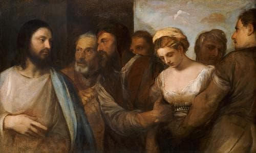 Jesus And The Adulteress A Story About Sin And Mercy Bible
