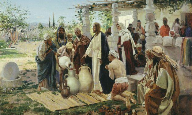 The Culmination of the First Miracle of Jesus